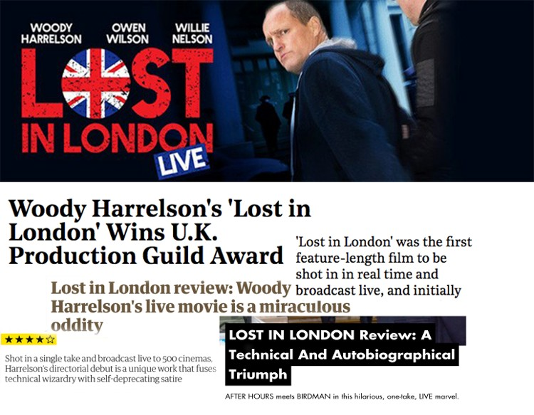 Lost in London Live News